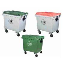 Containere si pubele din plastic pentru gunoi