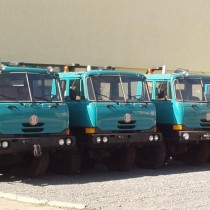 Autobasculante TATRA 8x8 - Fabricatie: 1994 - 1996