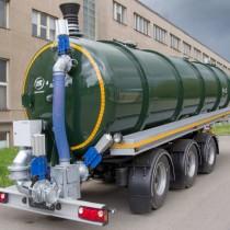 Semiremorca cisterna pentru transport reziduuri agricole - ZVVZ Machinery - Semi-trailer DOMEX 30