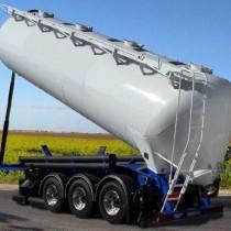 Semiremorci Cisterne Basculabile - ZVVZ Machinery - Tipping tank semi-trailers