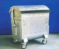 Containere din tabla galvanizata pentru gunoi
